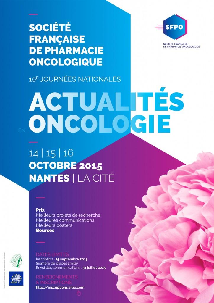 Xèmes Journées Nationales Actualités en Oncologie 2015